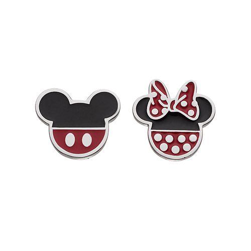 Disney's Mickey & Minnie Mouse Kids' Stud Earrings