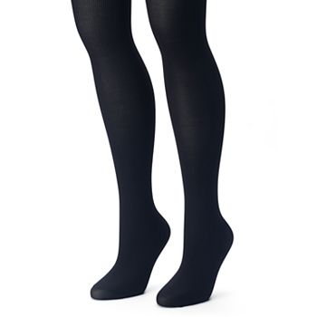 9c905d3c92776 Plus Size Apt. 9® 2-pk. Ribbed & Solid Tights