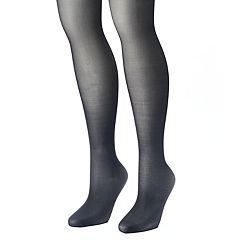 Plus Size Apt. 9® 2 pkSheer Tights