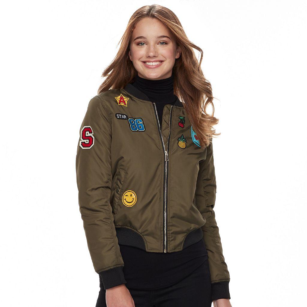 Juniors' Sebby Flight Bomber Jacket