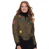 Juniors' Sebby Flight Bomber Jacket