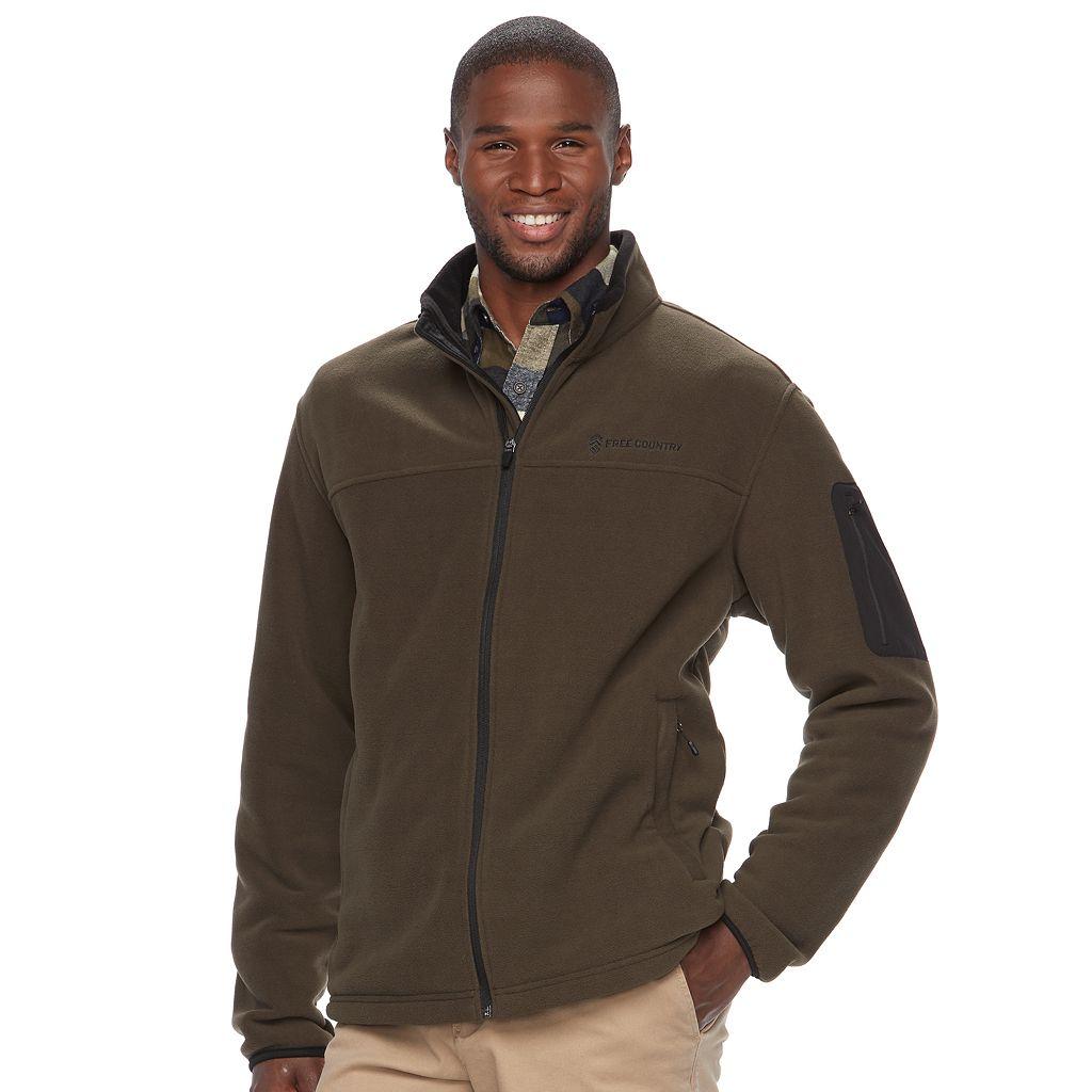 Big & Tall Free Country Fleece Jacket