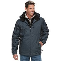 Big & Tall Free Country Bibbed Hooded Jacket
