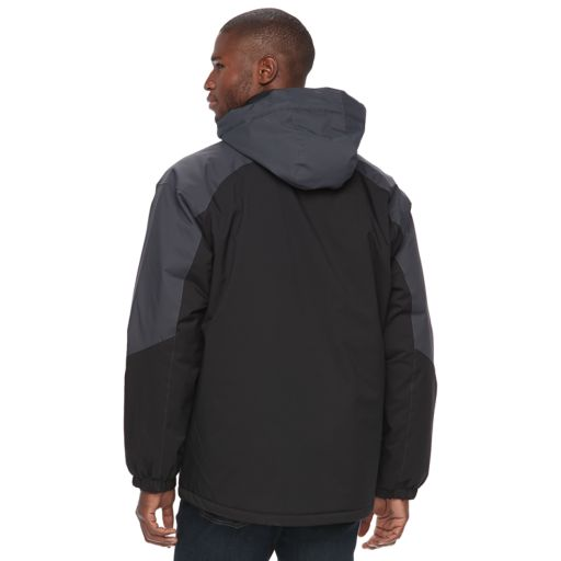 Big & Tall Free Country Colorblock Hooded Jacket