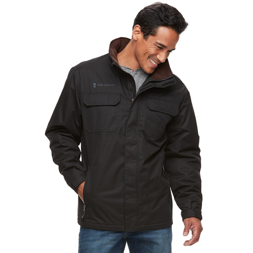 Big & Tall Free Country Microfiber Jacket