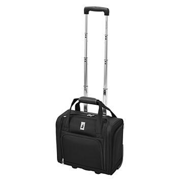 London Fog Knightsbridge 15-Inch Wheeled Underseater Carry-on Luggage