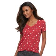 Petite SONOMA Goods for Life? Essential V-neck Tee