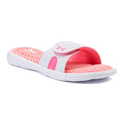 b3f12734bfac Under Armour Ignite Power In Pink VIII Women s Slide Sandals