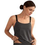 Women's Amoena Ayon Bra-Sized Geometric Tankini Top