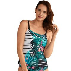 Women's Amoena Mexico Tropical Striped Tankini Top