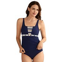 Women's Amoena Samos Nautical Tankini Top