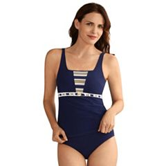 Women's Amoena Samos Bra-Sized Nautical Tankini Top