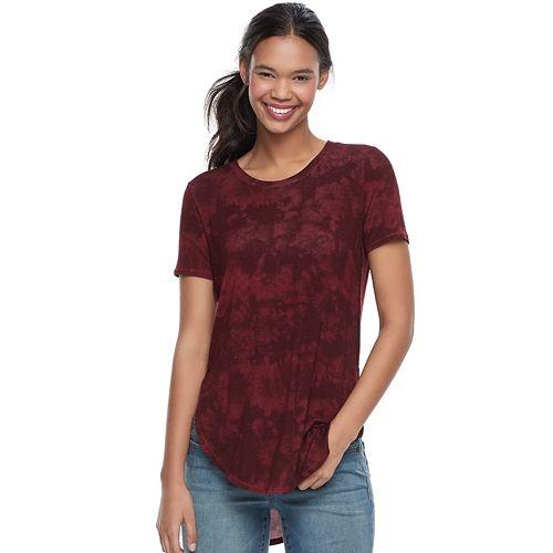Juniors' Mudd® Shirttail Short Sleeve Tee