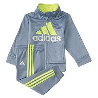Toddler Boy adidas Amplified Net Embossed Jacket & Jogger Pants Set