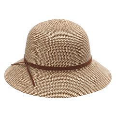 Women's SONOMA Goods for Life™ Faux-Suede Tie Cloche Hat