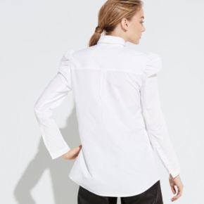 k/lab Puff Sleeve Button-Down Shirt