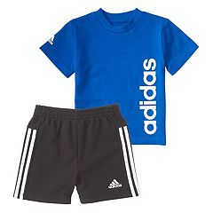 Toddler Boy adidas Sidekick Graphic Tee & Shorts Set
