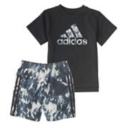 Toddler Boy adidas Sport Graphic Tee & Shorts Set