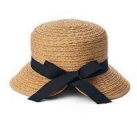 Women's SONOMA Goods for Life™ Split-Back Cloche Hat