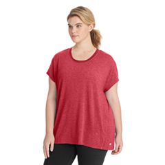Plus Size Champion Gym Issue Scoopneck Tee