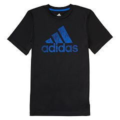 Toddler Boy adidas Pattern Fill Logo Graphic Tee