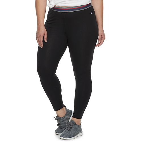 Plus Size Champion Authentic Colorblock Leggings