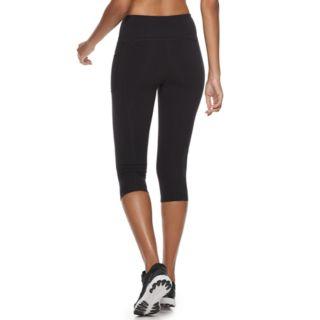 Women's FILA SPORT® Black Capri Leggings