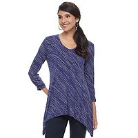 Women's Apt. 9® Shark-Bite Hem Tunic