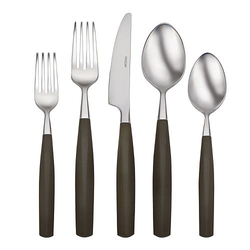 Oneida Terrace Espresso 20-pc. Flatware Set