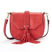 Mellow World Taylor Braided Tassel Crossbody Bag