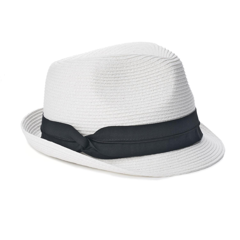 Women\u0027s SONOMA Goods for Life™ Grosgrain Band Classic Fedora Womens Hats - Accessories, Accessories | Kohl\u0027s