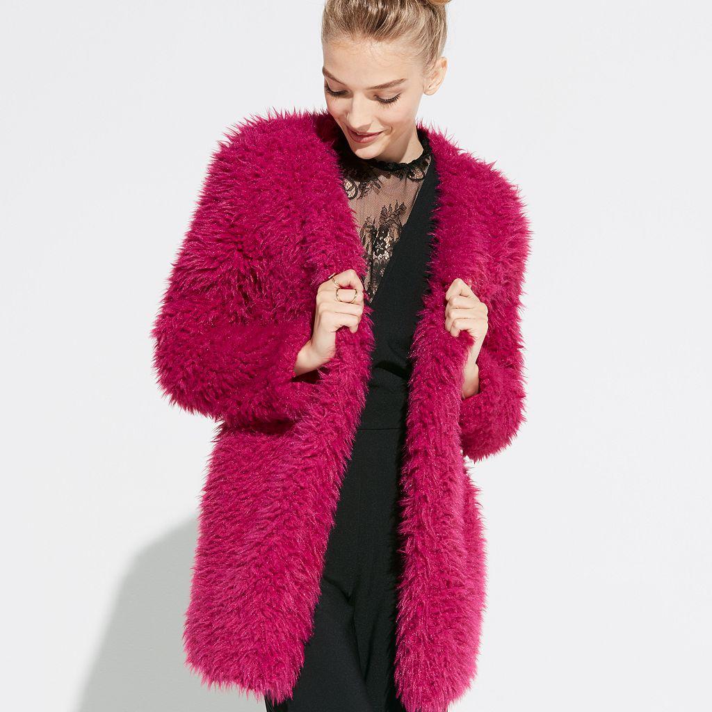 k/lab Faux-Fur Coat