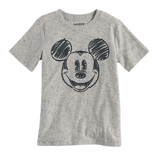 Disney's Mickey Mouse Boys 4-10 Scribble Short Sleeve Graphic Tee by Jumping Beans®