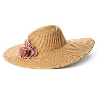 Women's SONOMA Goods for Life™ Flower Accent Floppy Hat