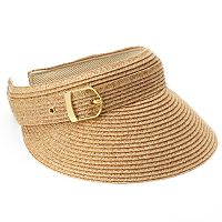SONOMA Goods for Life™ Woven Straw Buckle Visor