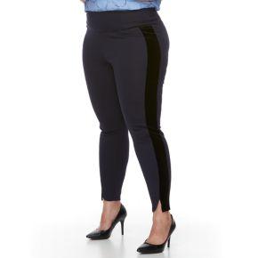 Plus Size Apt. 9® Tuxedo Stripe Ponte Leggings
