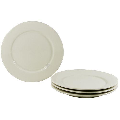 Buffalo China 4-pc. Dinner Plate Set