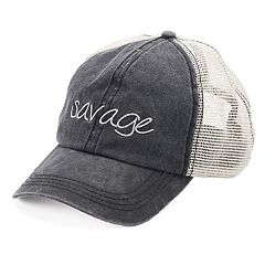 Women's SO® 'Savage' Mesh Back Cap