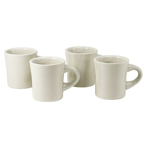 Buffalo China 4-pc. Mug Set