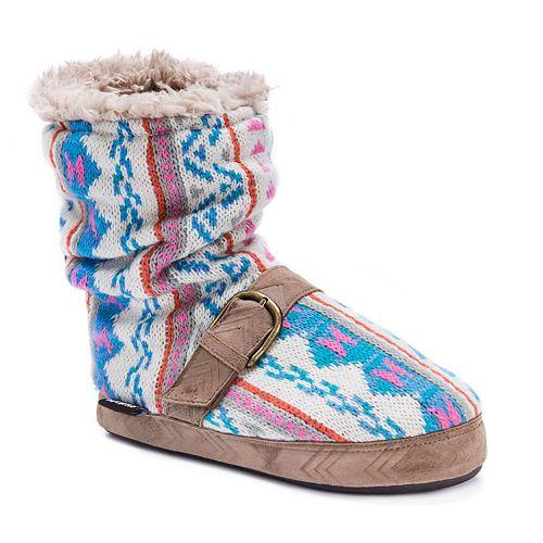 Women's MUK LUKS Jenna Knit Slippers