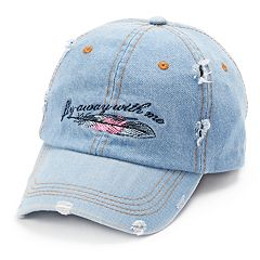Women's SO® 'Fly Away With Me' Baseball Cap