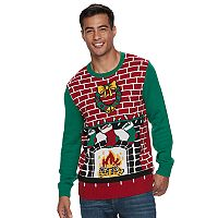 Men's Light-Up Ugly Christmas Sweater