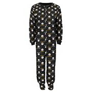 Toddler Pittsburgh Steelers One-Piece Fleece Pajamas