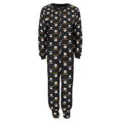 Toddler Pittsburgh Steelers One-Piece Fleece Pajamas