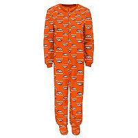 Toddler Denver Broncos One-Piece Fleece Pajamas