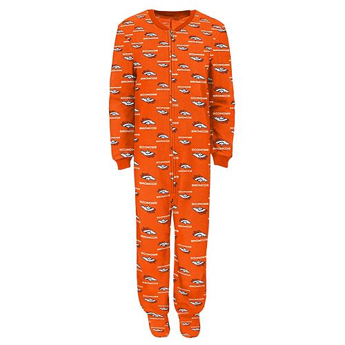 youth denver broncos pajamas