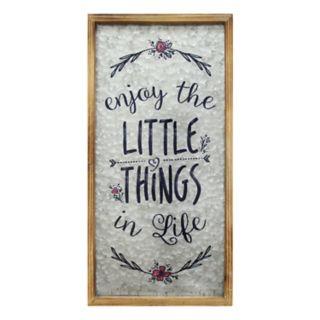 """Stratton Home Decor """"Little Things"""" Farmhouse Wall Decor"""