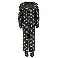 Boys 8-20 Pittsburgh Steelers One-Piece Fleece Pajamas
