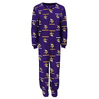 Boys 8-20 Minnesota Vikings One-Piece Fleece Pajamas