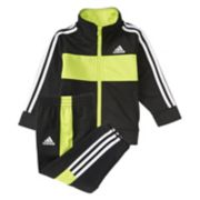 Baby Boy adidas Team Jacket & Pants Track Suit Set